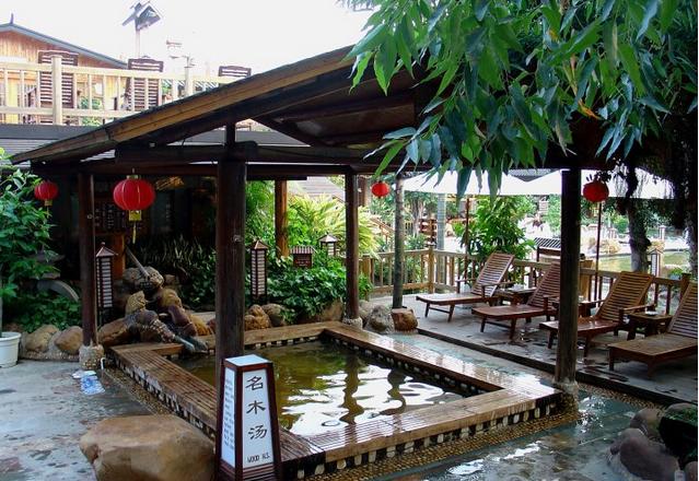 珠海御温泉渡假村冬季大餐庙会套票(上房)