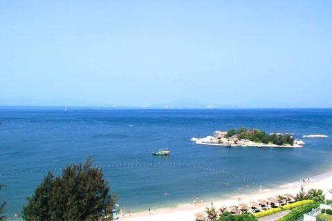 惠州巽寮湾2天海公园豪华酒店*海景房