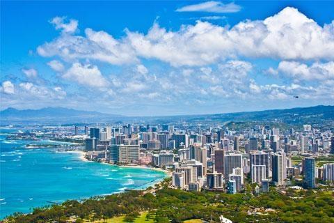 【典·休闲】美国夏威夷6天*市区游览*珍珠港*小环岛*东航*广州往返