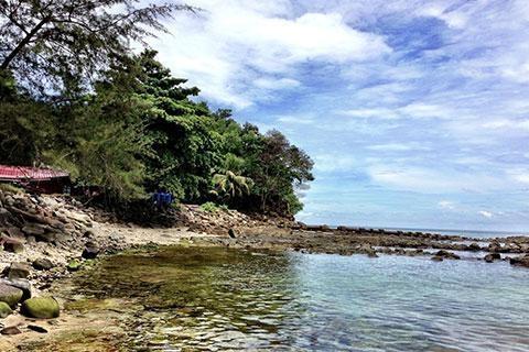 沙巴-【自由行】马来西亚沙巴5天*香格里拉酒店*广州直航*等待确认<机票+酒店+接送,醉美日落 私人沙滩,入住2晚丹绒香拉+2晚拉萨香拉>