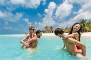 马尔代夫【移动-【自由行】马尔代夫卡尼岛5天*机票+酒店*ClubMed地中海俱乐部*广州往返南航*等待确认<一价全包、3会所>