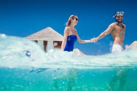 马尔代夫-【自由行】马尔代夫卡尼岛5天*机票+酒店*ClubMed地中海俱乐部*广州直航*等待确认<一价全包、3水>