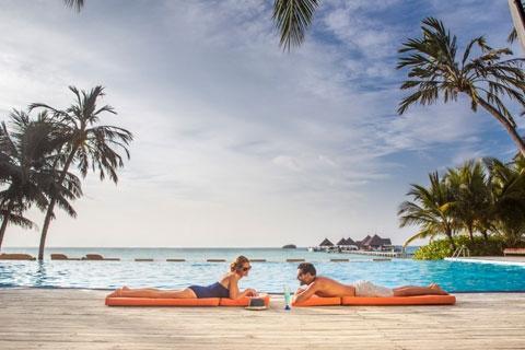 马累-【自由行】即时确认*马尔代夫卡尼岛5天*机票+酒店*ClubMed地中海俱乐部*广州直航*<一价全包、3会所>