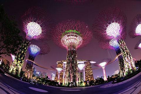 新加坡5天<圣淘沙名胜世界,滨海湾花园,加东娘惹.阿拉伯马来文化区>