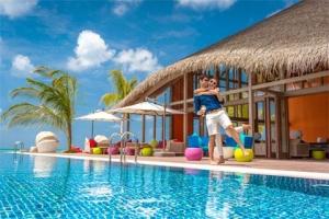 马尔代夫【移动-【国庆】马尔代夫翡诺岛6天*机票+酒店*ClubMed地中海俱乐部*广州往返新航*等待确认<一价全包、4晚>