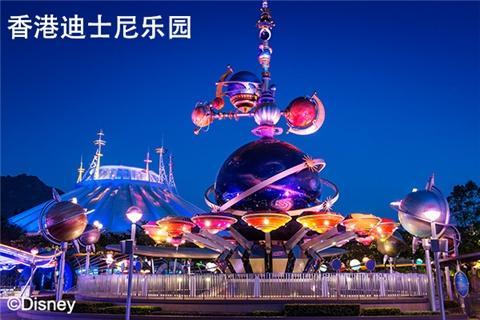 香港迪士尼乐园梦幻假期B线纯玩2天