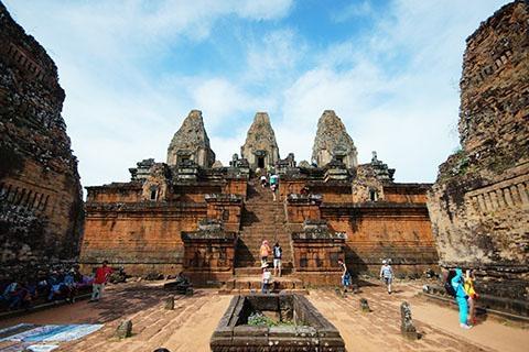 柬埔寨 吴哥-【乐·慢享】柬埔寨、吴哥5天*古城*乐享之旅*广州往返<千年古都吴哥窟,皇家公园>