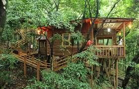 温泉-【生态·温泉】清远英德九州驿站天门沟、森林瀑布2天*休闲纯玩
