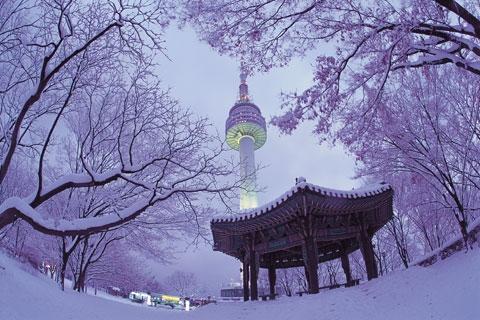 【尚·博览】韩国首尔济州庆州釜山6天*纯玩*全景*滑雪*釜山进仁川出
