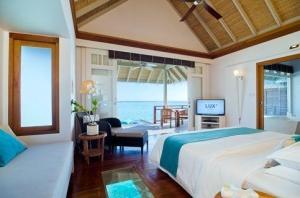 海岛-【自由行】马尔代夫(LUX岛)5天*机+酒*广州往返*等待确认<全岛免费wifi、中文服务,亲子、蜜月、内陆飞机+快艇上岛>