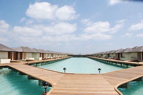 马尔代夫-【自由行】马尔代夫(天堂岛)5天*机+酒*广州往返*等待确认<设施齐全、开发成熟、免费wifi、中文服务、快艇上岛>