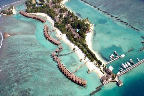 马尔代夫-【自由行】马尔代夫(圆月岛)5天*机+酒*广州往返*等待确认<喜来登品牌集团、中文服务,快艇上岛>