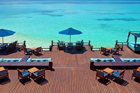 马尔代夫-【自由行】马尔代夫(圆月岛)6天*机+酒*广州往返*等待确认<喜来登品牌集团、中文服务,快艇上岛>