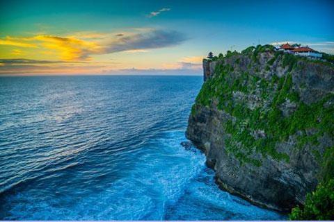 巴厘岛全景5-7天.经典之旅<广州往返.南湾海滩.海神庙>