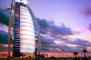 迪拜-【尚·休闲】阿联酋迪拜6天*帆船美食*超豪华酒店<享帆船酒店早餐,棕榈岛缆车,迪拜音乐喷泉>