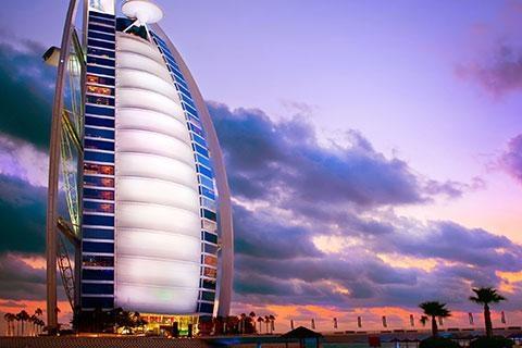 迪拜-【尚·休闲】阿联酋迪拜6天*帆船美食<帆船酒店用餐,棕榈岛缆车,迪拜音乐喷泉>