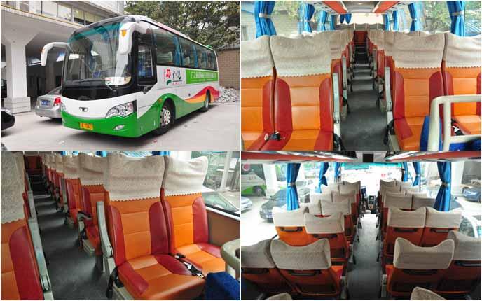37座桂林大宇高级旅游车 (3辆)