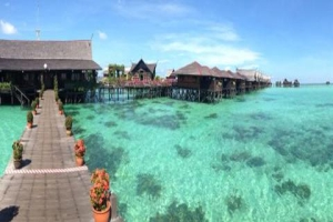香格里拉-【自由行】马来西亚沙巴5天5晚*格兰迪斯+香格里拉酒店*广州往返*等待确认<每间酒店赠送1次双人自助晚餐,海边酒店,醉美日落+迷人海滩>