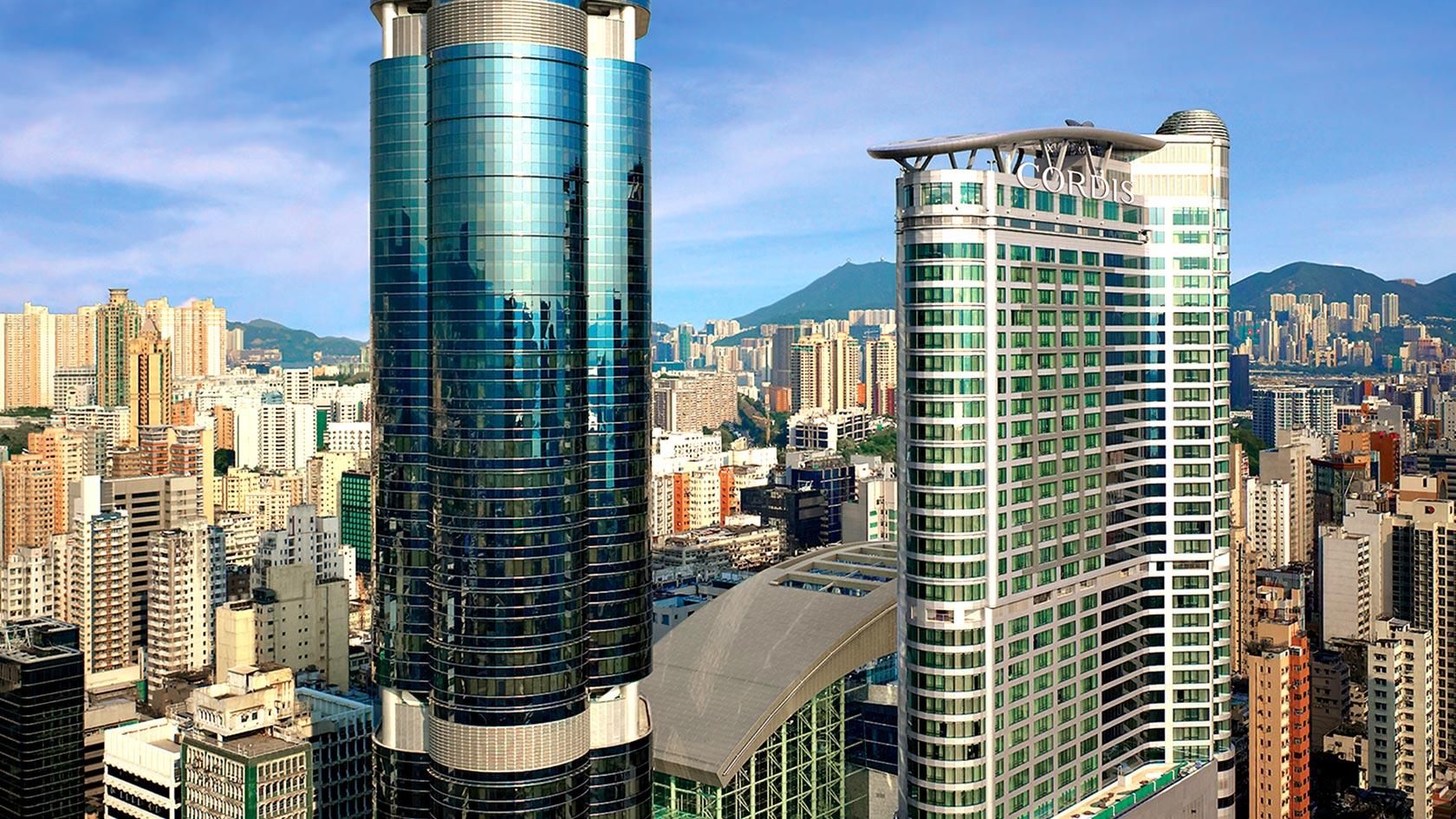 香港康得思酒店(原旺角朗豪酒店)