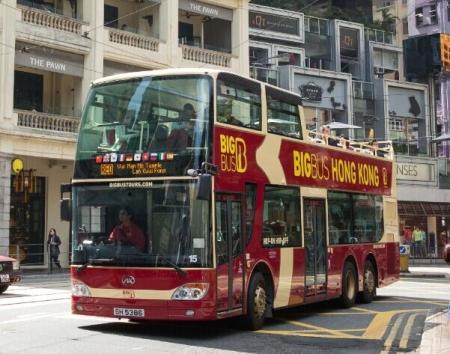 香港BIG BUS敞篷观光大巴士 日游
