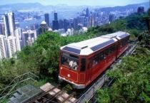 香港山顶缆车及凌霄阁