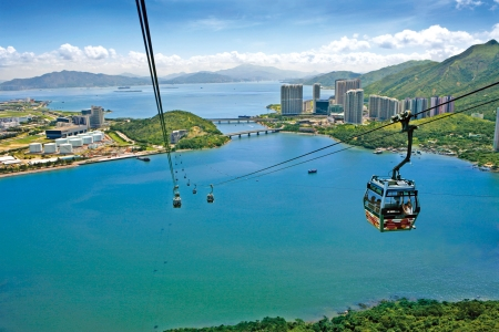 香港昂坪360缆车来回标准车厢-成人