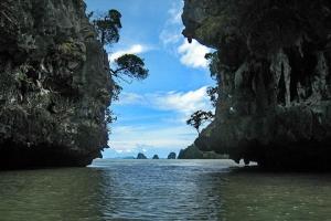 泰国-泰国【当地玩乐】代订普吉攀牙湾007岛皮划艇长尾船一日游(甲米出发)(2人起订)*等待确认