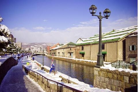 日本北海道6天*私家享乐*浪漫函馆夜景<洞爷湖温莎酒店+玩雪四合一体验>