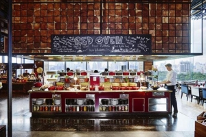 泰国-泰国【当地玩乐】代订曼谷索菲特特色酒店 Red Oven餐厅国际奢华自助晚餐
