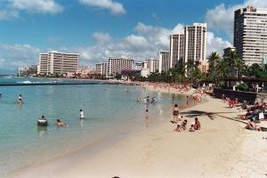 夏威夷-【自由行】美国夏威夷7天*自由行*威基基市区酒店*华航*香港往返<机票+1晚酒店+接送机>