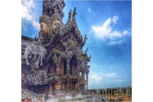 泰国-【誉·博览】泰国曼谷、考艾6天*安心游*欢乐亲子<考艾意大利小镇,水上乐园>