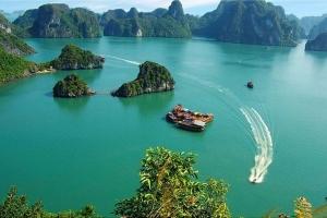 广西-【尚·全景】越南、吉婆岛、下龙湾、河内、动车5天*越品质<度假天堂吉婆岛,豪华沙滩度假酒店,3晚超豪华>