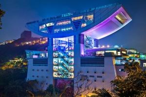 太平山顶-香港太平山顶阿甘虾餐厅
