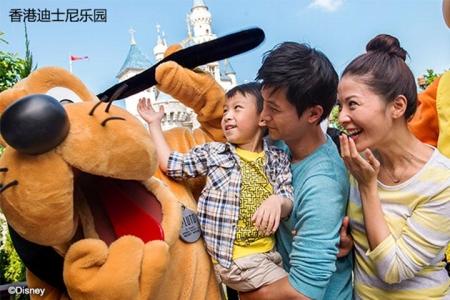 香港迪士尼乐园1日标准门票电子换票证(成人)