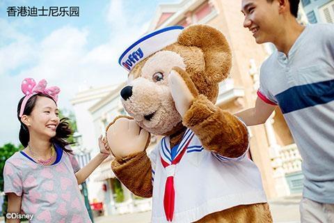 香港迪士尼乐园2天.黄大仙.浅水湾.赤柱.太平山顶