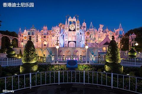香港迪士尼乐园.二合一餐券.电子票