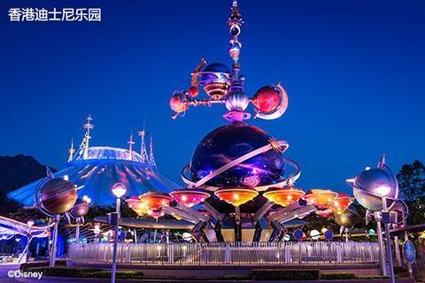 香港迪士尼乐园2天.单程.直通巴士<DB>
