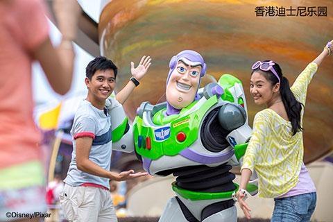 【乐园】香港迪士尼乐园2天*全家乐*直通巴士*单程