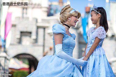 【门票*酒店】香港迪士尼乐园、香港万丽海景酒店2天*1日门票电子票*自由行套票
