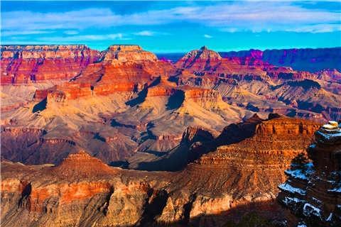 美国-【典·博览】美国16天*本土深度铂金系列*全景大环线*名城名校*国家公园<大峡谷南缘,大洋路风光,马蹄湾,羚羊峡谷>