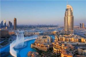 迪拜-【誉·休闲】阿联酋迪拜5/6天*帆船557*奢华*广州往返<帆船酒店170平方米复式海景套房,阿拉伯木船游运河>