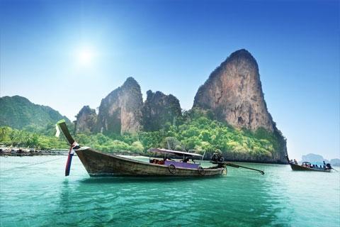 泰国甲米5天自由行*机票+1晚酒店
