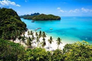 泰国-泰国【当地玩乐】代订苏梅安通国家海洋公园观光+浮潜+划独木舟 大船一日游(high sea)*等待确认