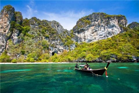 泰国【当地玩乐】代订普吉PP岛+蛋(Khai)岛快艇一日游 (中文服务) |跟团游