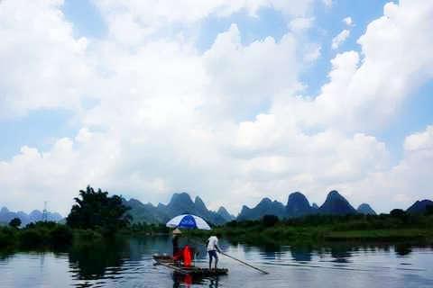 <漓江.西街>桂林.阳朔汽车跨省3天.世界自然遗产