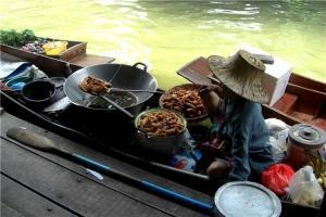 泰国-泰国【当地玩乐】代订曼谷丹嫩沙多水上市场半日游(中文服务)