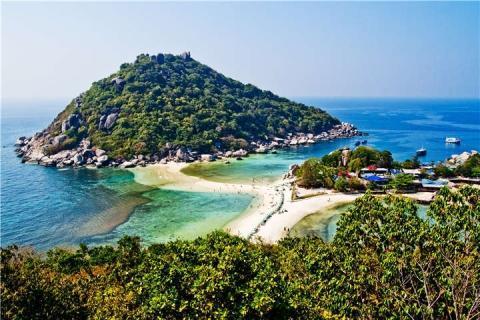 苏梅岛-泰国【当地玩乐】代订苏梅岛丹岛上午浮潜半日游