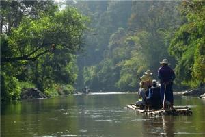 泰国-泰国【当地玩乐】代订清迈骑大象+丛林飞跃+坐竹筏一日游*等待确认