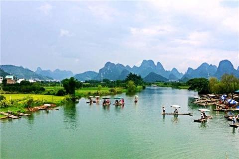 桂林、阳朔、龙脊3天.龙脊梯田、阳朔遇龙河