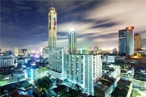 泰国-泰国【当地玩乐】代订曼谷拜约克摩天塔 空中水上市场餐厅(75层)晚餐*等待确认